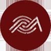 logo banner redondo